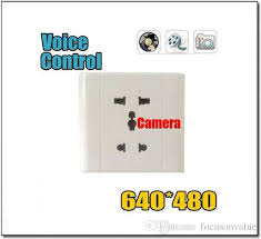 Home Wall Socket Camera With High Quality Video Recorder