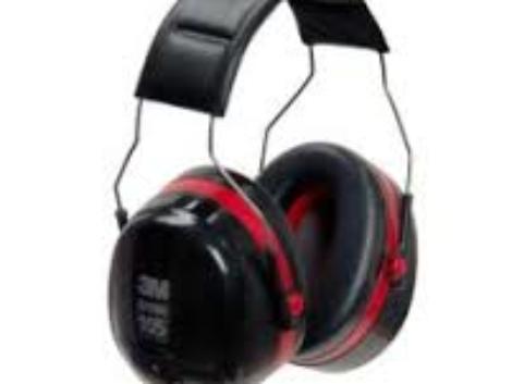 Noise Protective 105DBA Over-the-Head Earmuffs