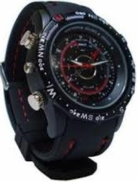 Spy Camera Wrist Watch with High Video Recording