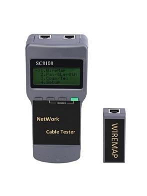 cat5 rj45 network cable tester sc8108 breakpoint finder length test rangefinder