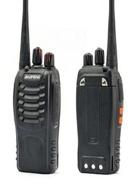 walkie talkie baofeng 888s 2 way radio 2pcs baofeng