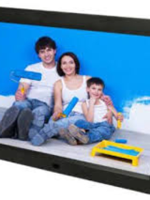 12Inches Digital Photo Display Frame With Rechargeable Battery and Free 4GB Memory Card.