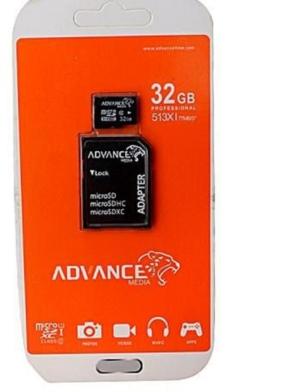 32gb advance memory card