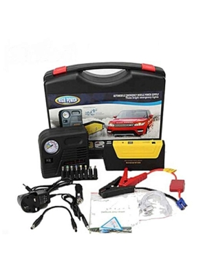Emergency Car Battery Jump Starter With Tyre Inflator