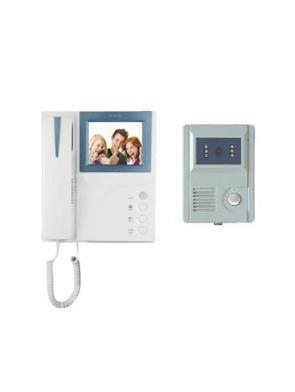 video door bell with handle